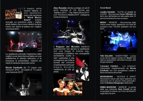 Italian Music Award live concert