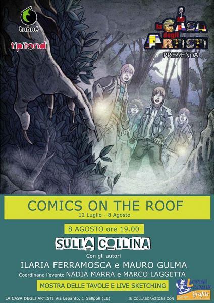 """Graphic novel """"Sulla Collina"""" ne La Casa degli Artisti Gallipoli"""