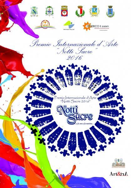 """Premio Internazionale d'Arte """"Notti Sacre 2016"""""""