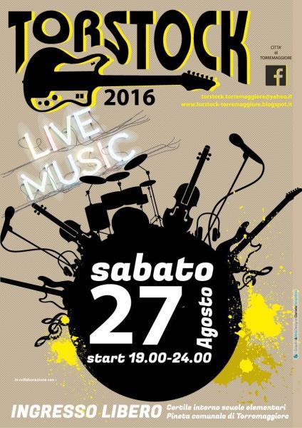 Torstock 2016 vent'anni di rock a Torremaggiore