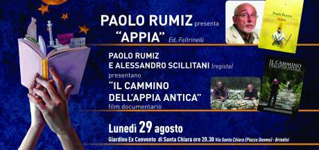 "PAOLO RUMIZ presenta""APPIA"" Ed.Feltrinelli"