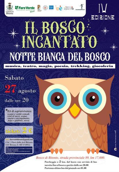 Il Bosco Incantato - Notte Bianca del Bosco di Bitonto IV ed.