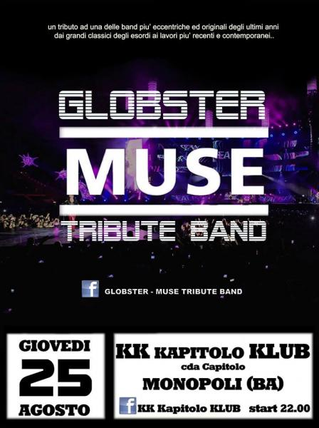 Globster Muse Tribute Band live