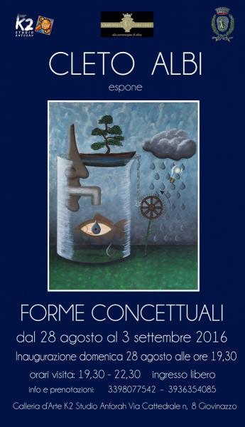 """""""Forme concettuali""""   - Cleto Albi"""