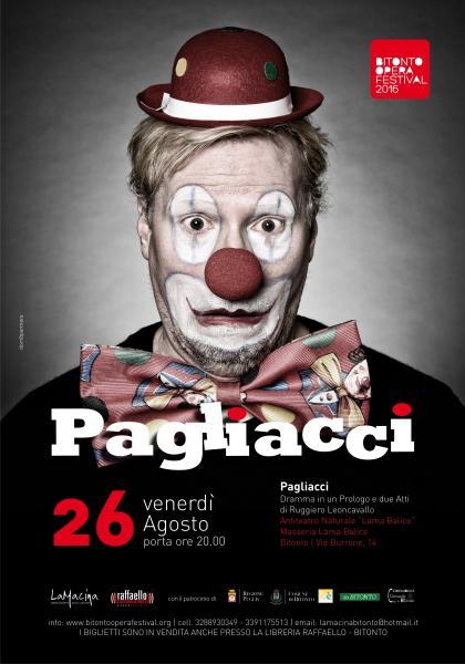 """Bitonto Opera Festival. Grande chiusura con """"Pagliacci"""""""
