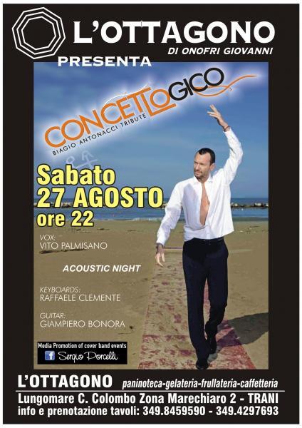 Concetto Logico Biagio Antonacci Tribute All'ottagono Trani