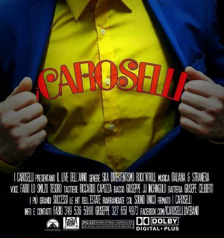 I Caroselli Live at Xxl Beach Cafè // Lunedì 29 Agosto 2016