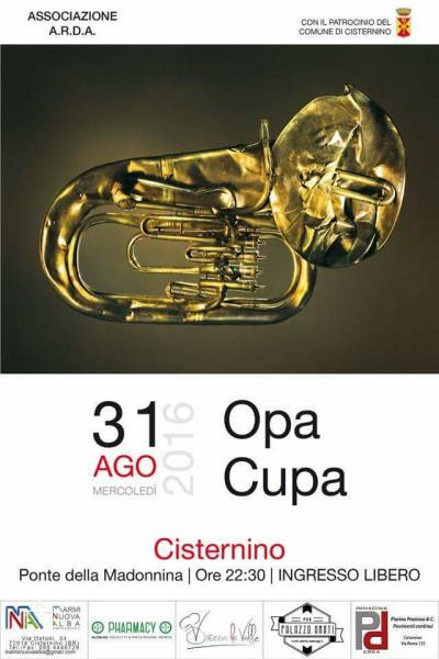 "Opa Cupa in concerto a Cisternino(Br) - ""Baluardo Live Tour"""