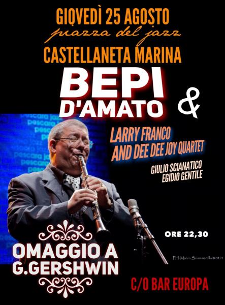 Bepi D'Amato quintet in Omaggio a George Gershwin