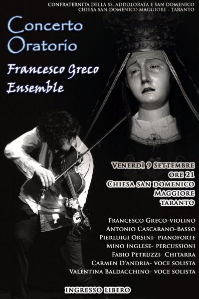 Francesco Greco Ensemble - Gran Concerto in Onore dei Festeggiamenti Madonna Addolorata