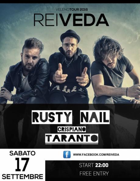 Rei Veda LIVE - Velenotour2016