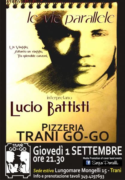 LE VIE Parallele live at TRANI A GO GO - Lucio Battisti cover Band