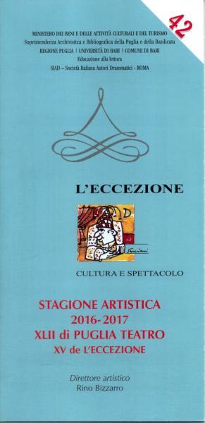 Stagione Artistica 2016/2017