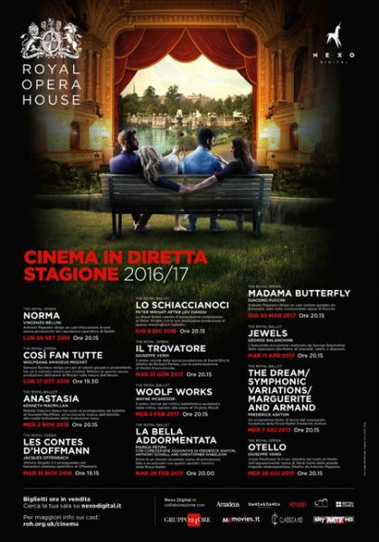 ROYAL OPERA HOUSE 2016/2017 - in Diretta al Cinema