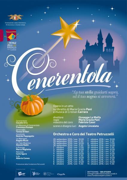 Cenerentola . Opera su libretto di Maria Grazia Pani e musica di Cristian Carrara
