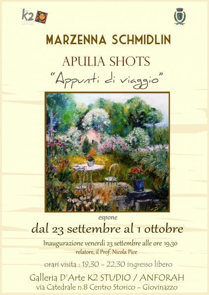 """APULIA SHORTS """"Appunti di viaggio"""""""