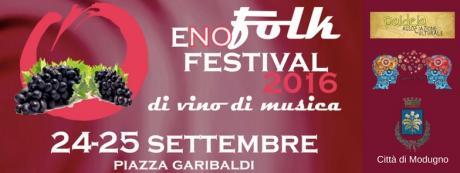 eNo-Folk Festival 2016: a modugno il 24 e 25 settembre