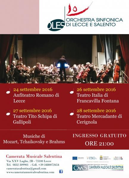 Orchestra Sinfonica di Lecce e Salento in concerto