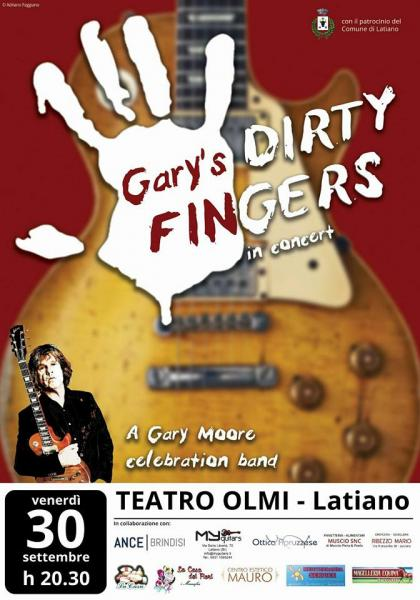 Gary's dirty fingers in concerto