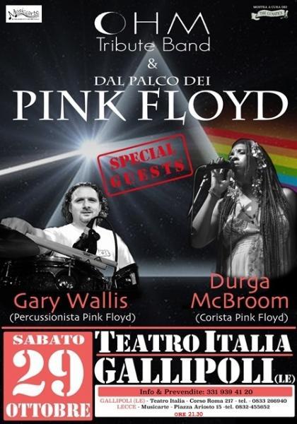 OHM PINK FLOYD + DURGA MCBROOM & GARY WALLIS - Corista e Percussionista PINK FLOYD