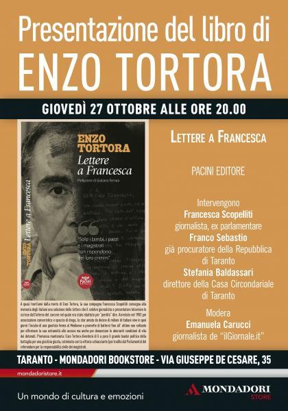 """Presentazione di """"Lettere a Francesca"""" di Enzo Tortora"""