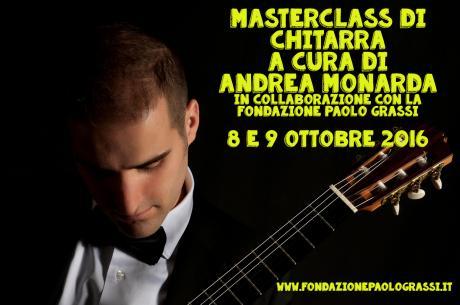 Masterclass di Chitarra a cura di Andrea Monarda
