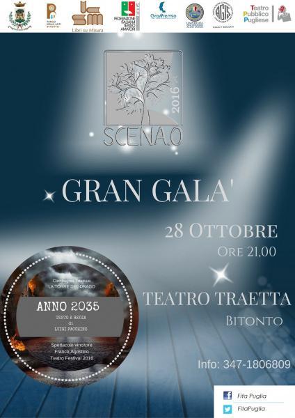 Gran Galà   II ^ Ed. SCENA.O  premio per il teatro