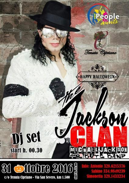 The JACKSON CLAN Live a TENUTA CIPRIANO-Torremaggiore (FG)