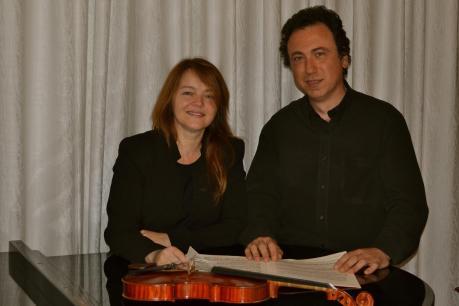 Concerto del Duo Fabio Cafaro ( Violino) e Clelia Sarno ( Pianoforte)