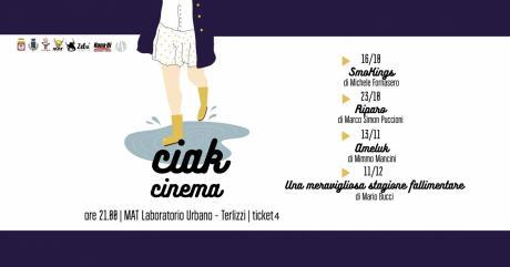 CIAK - rassegna cinematografica al MAT lab. urbano - Terlizzi