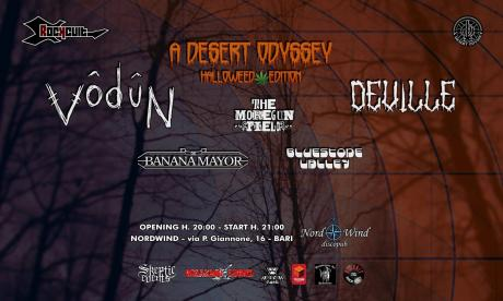 Vodun (UK) - Deville (SWE) - The Moregunfield - Banana Mayor - Bluestone Valley live concert