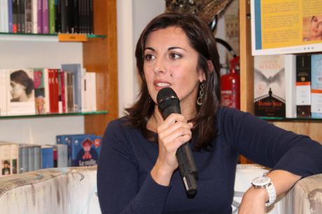 Maria Pia Romano a Monteroni per Libriamoci 2016