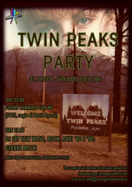 Twin Peaks Halloween Party