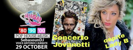 Concerto Jovanotti tribute☆Dj. Set☆Festa anni 80 90 2000