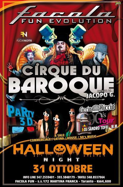 Halloween Night al Facola Fun - 31 Ottobre 2016