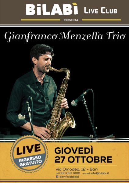 Bilabì Live Club - Gianfranco Menzella Trio