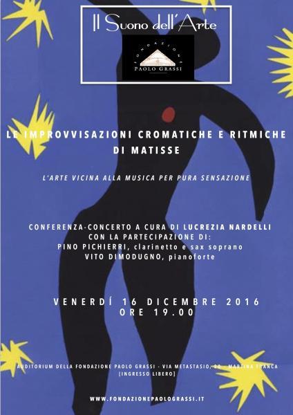 """IL SUONO DELL'ARTE:  """"Le improvvisazioni cromatiche e ritmiche di Matisse"""""""