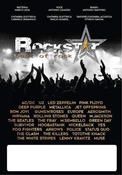 Rockstar - Pattinare al  Pala Rotonda Beat a tutto Rock!