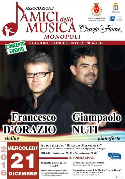 Francesco D'Orazio & Giampaolo Nuti