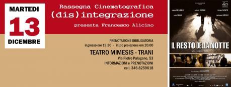 IL RESTO DELLA NOTTE - Rassegna Cinematografica (dis)integrazione