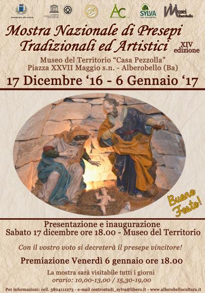 La Mostra dei Presepi Tradizionali ed Artistici - XIV edizione
