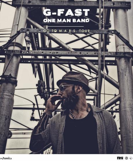 G-Fast one man band rock blues live da TABIR Taranto