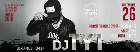 Mak TT Liceo Scientifico Guglielmo Marconi con DJ TY1