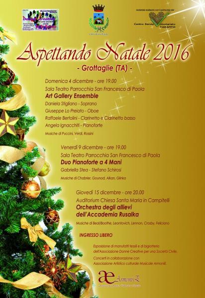 Orchestra degli allievi dell'Accademia Rusalka in Aspettando Natale 2016