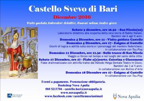 Dicembre al Castello di Bari