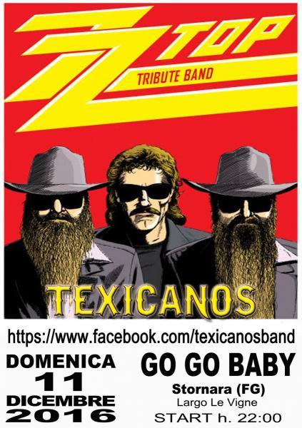 TEXICANOS LIVE al GO GO BABY - STORNARA (FG)