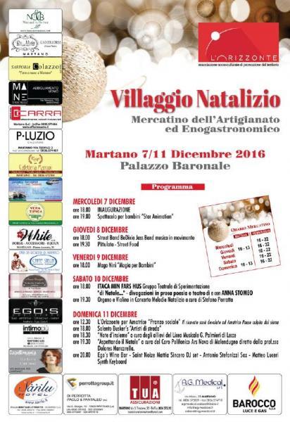 Villaggio Natalizio Martano Seconda Edizione
