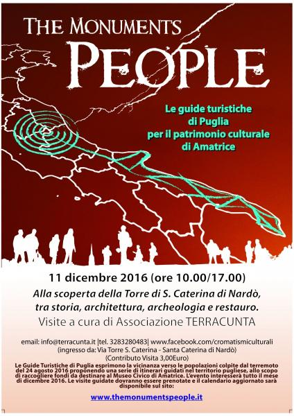 The Monuments People - 11 Dicembre: TORRE SANTA CATERINA di Nardò