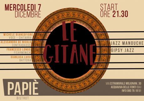Le Gitane live al Papiè Bistrot
