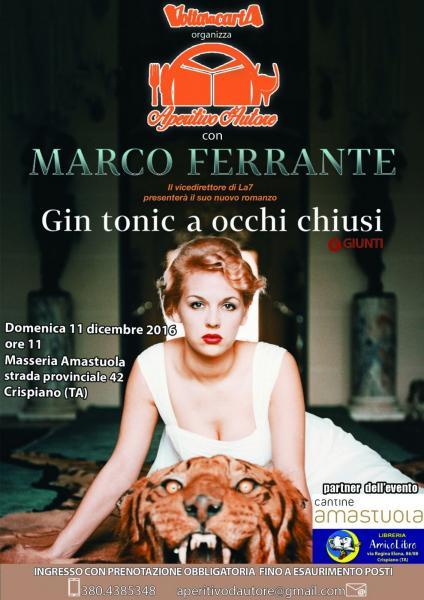 Aperitivo d'Autore con Marco Ferrante